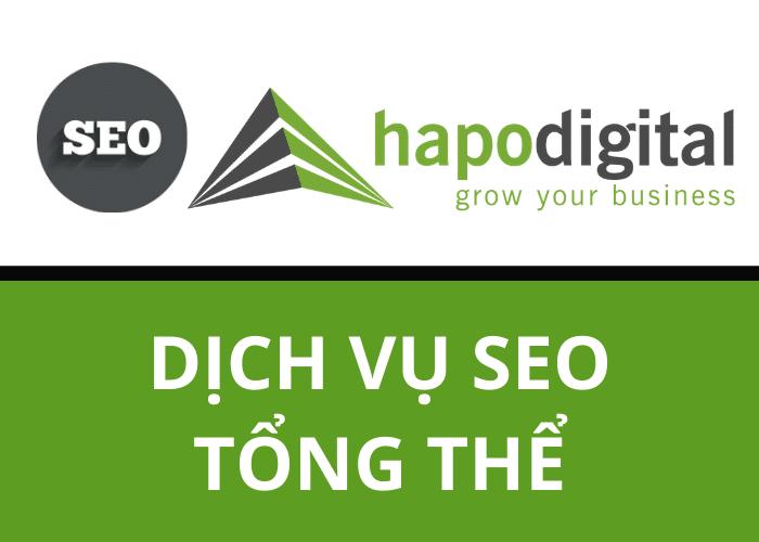 Dịch vụ SEO tổng thể HapoDigital