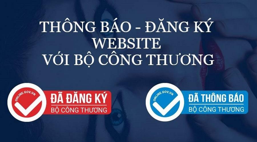 Hướng dẫn quy trình Đăng ký website với bộ công thương