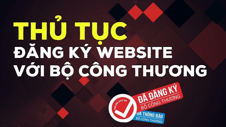 thủ tục đăng ký website với bộ công thương