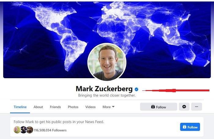 Tích xanh facebook trên profile