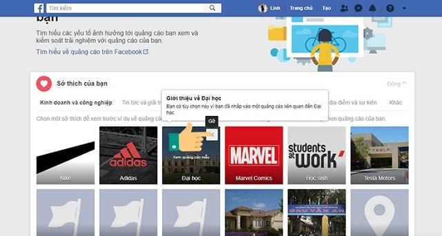 Cách chặn quảng cáo trên facebook