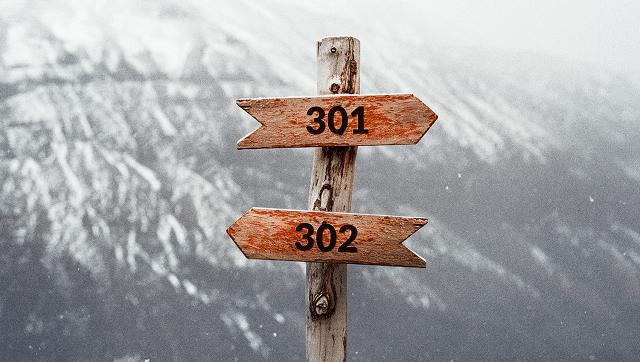 Thiết lập chuyển hướng 302 giữa các phiên bản miền của bạn