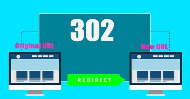 Chuyển hướng tạm thời với Redirect 302